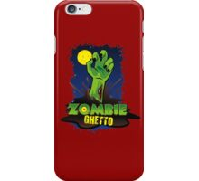ZOMBIE GHETTO OFFICIAL LOGO DESIGN iPhone Case/Skin