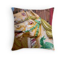 Better Days, Galloping Horses Throw Pillow