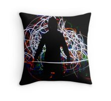 He emerged from the Chaos. Throw Pillow