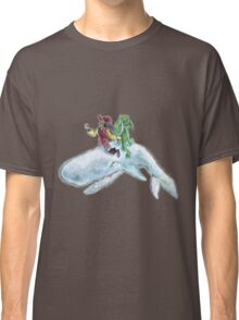 The Pirate, the alien and the whale Classic T-Shirt
