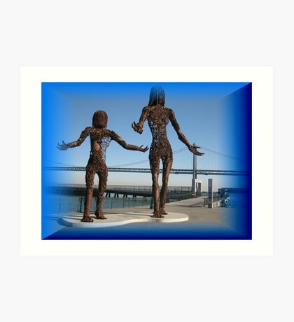 Splendid sculptures  Art Print