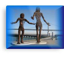 Splendid sculptures  Metal Print