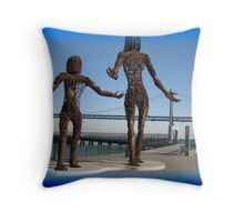 Splendid sculptures  Throw Pillow