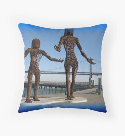 Splendid sculptures  Throw Pillow