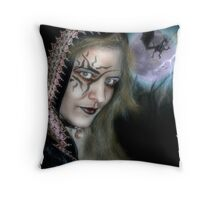 Sucubus Of The Night Throw Pillow