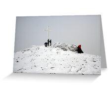 Carrauntoohil summit Greeting Card