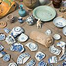 antique broken ceramic by dominiquelandau