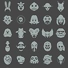Mask Collection by Azafran