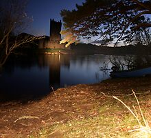 Ross Castle at night by John Quinn