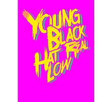Young, Black, Hat Real Low Photographic Print