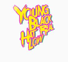 Young, Black, Hat Real Low Tank Top