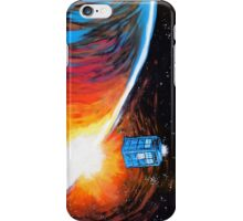 Time Travel Tardis iPhone Case/Skin
