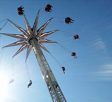 Aerial Swing Ride Luna Park by Jean Rim