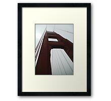 Golden Gate Bridge Suspension Framed Print