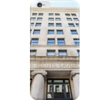 Old Boston Bank Building iPhone Case/Skin