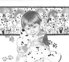 Boy and His Dalamations by Nicole I Hamilton