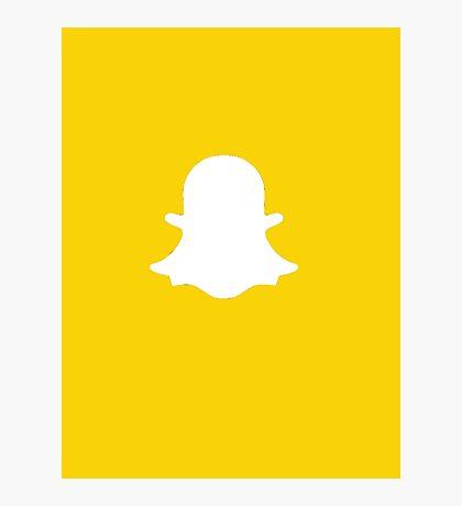 Snapchat Photographic Print