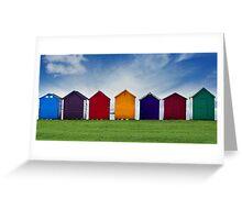 Beach Hut Series 19 Greeting Card