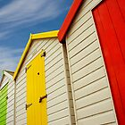 Beach Hut Series 20 by Amanda White