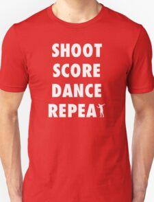 Sturridge - Shoot Score Dance Repeat Unisex T-Shirt