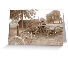 amish acres Greeting Card