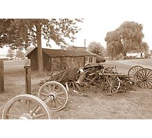 amish acres Photographic Print