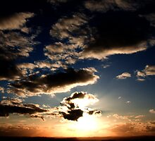 Dramatic Sunset by Rachel Lilly