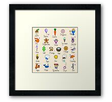 Nursery ABC Framed Print