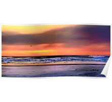 Cape Disappointment at Sunset in Washington HDR Poster