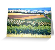 View from Chapel Hill Winery, McLaren Vale Greeting Card