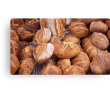 bread farmers market Canvas Print