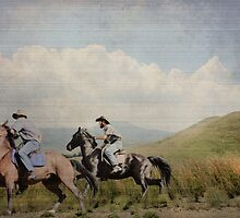 Two Cowboys and their Best Friends... Natal, South Africa by Qnita
