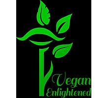 Vegan Enlightened Photographic Print