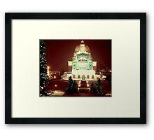 Christmas Past Framed Print