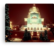 Christmas Past Canvas Print