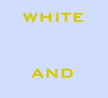 It's white and gold! Sticker