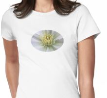 Clematis - JUSTART © Womens Fitted T-Shirt