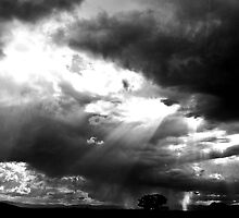 The Heavens Open Up. by Cody Spencer