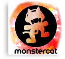 Monstercat Abstract Logo Canvas Print