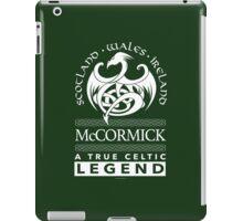 McCormick, A True Celtic Legend Dragon iPad Case/Skin