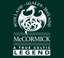McCormick, A True Celtic Legend Dragon T-Shirt