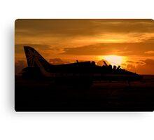 Scampton Sunset  Canvas Print
