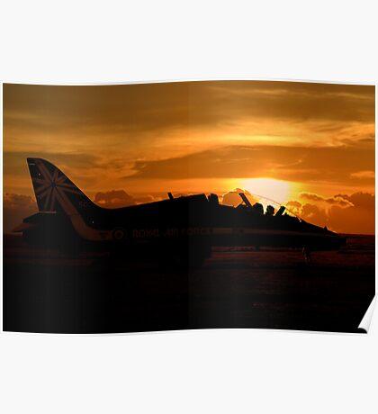 Scampton Sunset  Poster