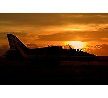 Scampton Sunset  Photographic Print