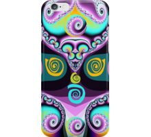 Swirls and curls iPhone Case/Skin