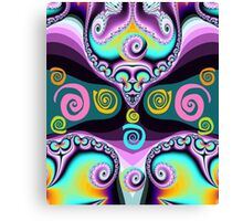 Swirls and curls Canvas Print