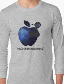 Through the Wormhole Long Sleeve T-Shirt