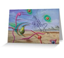In the Wakefulness of my Sleep, Even my Dreams have Dreams Greeting Card