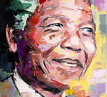Nelson Mandela by richardday