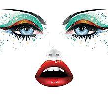 Carnival Makeup by AnnArtshock